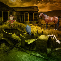 Free online flash games - Desolate Town Escape game - Games2Dress