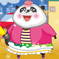 Free online flash games - Cute Panda Dress Up GirlsGoGames game - Games2Dress