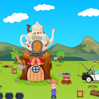 Free online flash games - Games2Jolly Coffee Cart Escape game - Games2Dress
