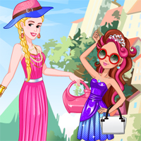 Free online flash games - Sleeping Beauty and Briar Beauty game - Games2Dress