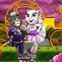 Free online flash games - Angie Spring Wedding ZeeGames game - Games2Dress