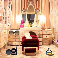 Free online flash games - Makeup Room Hidden Objects game - Games2Dress