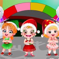 Free online flash games - Baby Hazel Winter Fashion game - Games2Dress