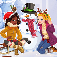 Free online flash games - Do you wanna build a snowman game - Games2Dress