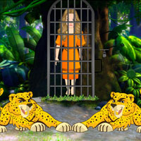 Free online flash games - Rescue Jungle Girl Escape game - Games2Dress
