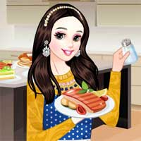 Free online flash games - Princess Chef game - Games2Dress