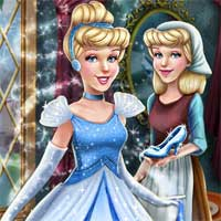 Free online flash games - Cinderella Princess Transform AgnesGames game - Games2Dress
