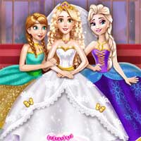 Free online flash games - Goldie Princess Wedding game - Games2Dress