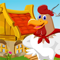 Free online flash games - Games4King Super Hen Rescue game - Games2Dress