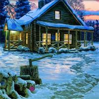 Free online flash games - Hog Snow Forest Hidden Flakes game - Games2Dress