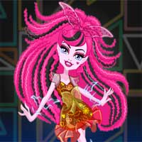 Free online flash games - Electrified Supercharged Ghoul Draculaura Dress Up game - Games2Dress