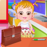 Free online flash games - Baby Hazel Helping Time game - Games2Dress