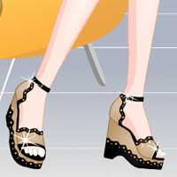 Free online flash games - Super Shoes game - Games2Dress