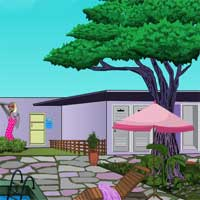 Free online flash games - Games4escape Girls Swimming Pool Escape game - Games2Dress