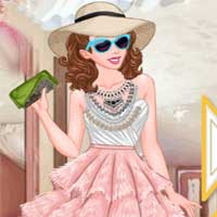 Free online flash games - Princess High Fashion To Ready To Wear game - Games2Dress