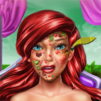 Free online flash games - Princess Mermaid Skin Doctor Sisigames game - Games2Dress