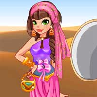 Free online flash games - Editors Pick In the Desert game - Games2Dress