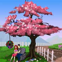 Free online flash games - Games4Escape Romantic Park Escape game - Games2Dress