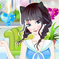 Free online flash games - Afternoon Tea Dress Up GirlGamey game - Games2Dress