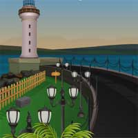 Free online flash games - 5NGames Can You Escape The Lighthouse game - Games2Dress