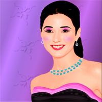 Free online flash games - Emmanuelle Chriqui Makeover 123peppy game - Games2Dress