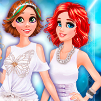 Free online flash games - White Party Surprise FreeGamesCasual game - Games2Dress