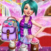 Free online flash games - Fairy College Fashion game - Games2Dress