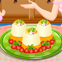 Free online flash games - Panna Cotta TopCookingGames game - Games2Dress