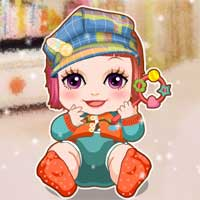 Free online flash games - Autumn Baby game - Games2Dress