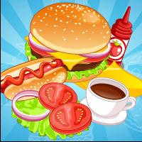 Free online flash games - Burger Hotdog Stand game - Games2Dress