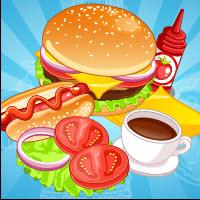 Free online flash games - Burger Hotdog Stand game - Games2Dress