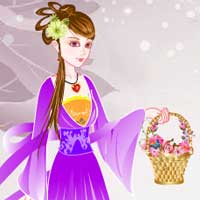 Free online flash games - Ancient Chinese Girl 2 game - Games2Dress