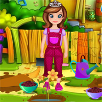 Free online flash games - Sofia The First Gardening DariaGames game - Games2Dress