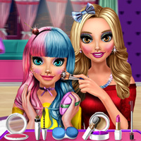 Free online flash games - Cuties Candy Makeup game - Games2Dress