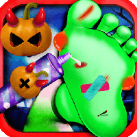 Free online flash games - Crazy Halloween Nail Doctor game - Games2Dress