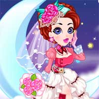 Free online flash games - Princess Wedding on the Clouds game - Games2Dress