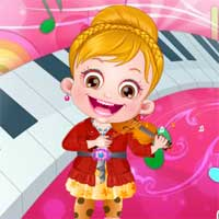 Free online flash games - Baby Hazel Photoshoot game - Games2Dress