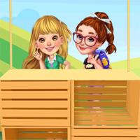 Free online flash games - Besties Lemonade Stand game - Games2Dress