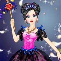 Free online flash games - Fantasy Dark Princess DidiGames game - Games2Dress
