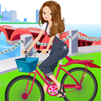 Free online flash games - Hipster Girl Bike Dressupwho game - Games2Dress