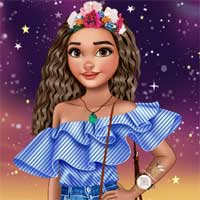 Free online flash games - Moana Ruffles FTW EGirlGames game - Games2Dress