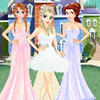 Free online flash games - Princess Ball Dress up ZeeGames game - Games2Dress