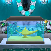 Free online flash games - Genie Lamp Escape Wowescape game - Games2Dress