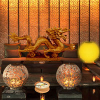 Free online flash games - Chinese Architectural House Escape Games2rule game - Games2Dress