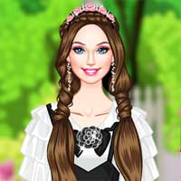 Free online flash games - Princesss Secret Garden game - Games2Dress
