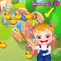 Free online flash games - Baby Hazel Ducks game - Games2Dress