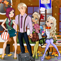 Free online flash games - Bus Stop Blues Girlgames game - Games2Dress