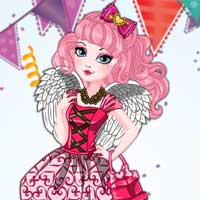 Free online flash games - CA Cupid Birthday Ball game - Games2Dress