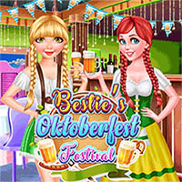 Free online flash games - Bestie's Oktoberfest Festival game - Games2Dress