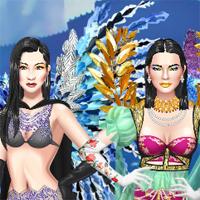 Free online flash games - Victoras Secret Fashion Show NYC game - Games2Dress